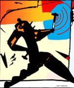 Hammering Man Logo