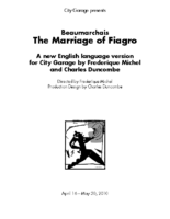 Marriage of Figaro Program