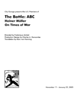 The Battle: ABC Program