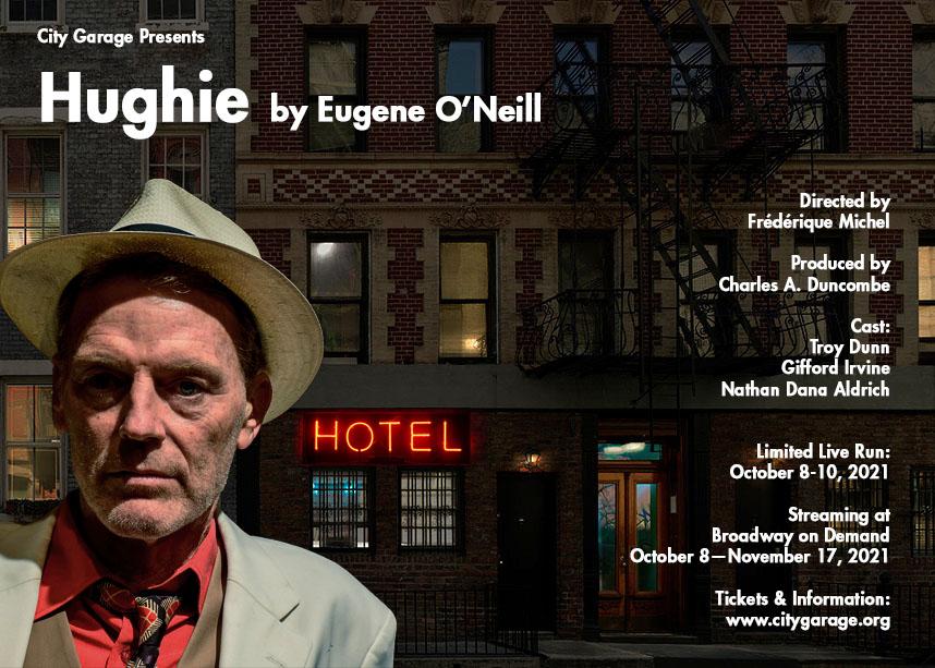 Hughie promotional post card